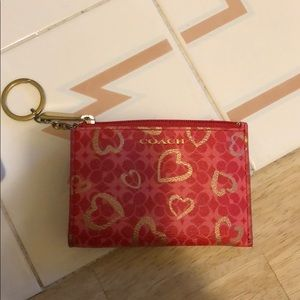 Coach card holder/wallet